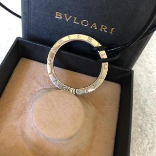ブルガリ(BVLGARI)の【箱入り】ブルガリ ブルガリブルガリ キーリング 925 革紐付き(ネックレス)