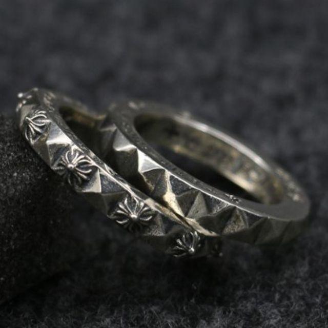 Chrome Hearts(クロムハーツ)のK162クロムハーツリング メンズのアクセサリー(リング(指輪))の商品写真