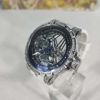 ROGER DUBUIS - 専用箱付き ROGER DUBUIS   ロジェデュブイ 腕時計 ラバーベルト