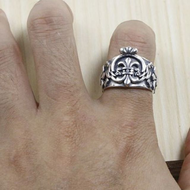 Chrome Hearts(クロムハーツ)のK133クロムハーツリング メンズのアクセサリー(リング(指輪))の商品写真