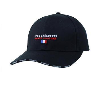 VETEMENTS(ヴェトモン)cap Haute Couture刺繍(キャップ)