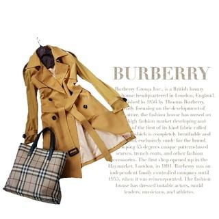 バーバリー(BURBERRY)の超高級 バーバリーロンドン 憧れの最上級デザイン バッグ付 モダントレンチコート(トレンチコート)