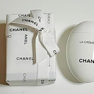 シャネル(CHANEL)の☆新品未使用☆【CHANEL】ハンドクリーム ラクレームマンリッシュ 50ml (ハンドクリーム)
