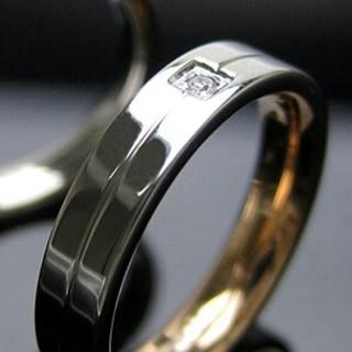 新品 キュービック リング(リング(指輪))