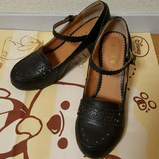 アクシーズファム(axes femme)のaxes✨ローファー黒✨24cm(ローファー/革靴)