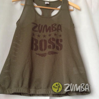 ZUMBA(ズンバ)トップス ノースリーブ