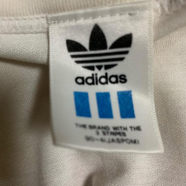 adidas(アディダス)の古着 90s 80s adidas ドイツ代表 ユニフォーム ストリート メンズのトップス(Tシャツ/カットソー(半袖/袖なし))の商品写真