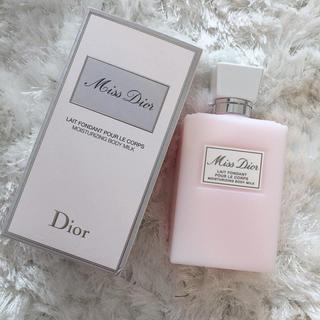 ディオール(Dior)のミスディオール  ボディミルク 未使用品(ボディローション/ミルク)