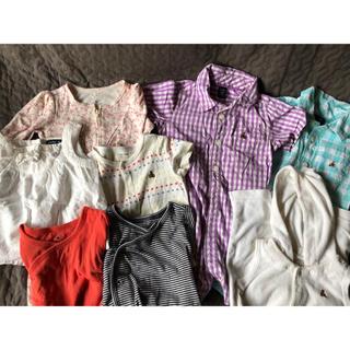 ベビーギャップ(babyGAP)の50-80サイズ ロンパース ベビー服 baby gap(ロンパース)
