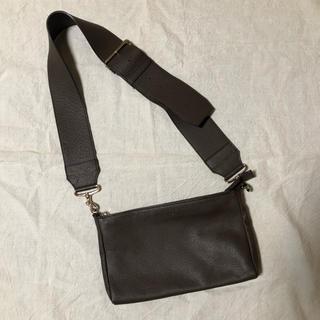スピックアンドスパンノーブル(Spick and Span Noble)のめぐめぐ様専用【ch!iii】widebelt shoulderbag(ショルダーバッグ)
