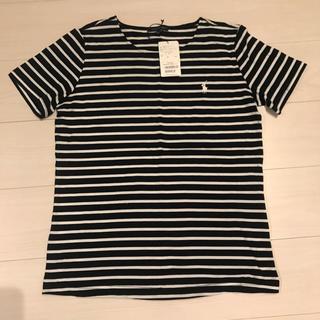 ラルフローレン(Ralph Lauren)のボーダークルーネック半袖Tシャツ(Tシャツ(半袖/袖なし))