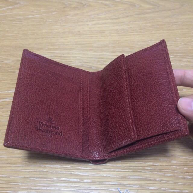 Vivienne Westwood(ヴィヴィアンウエストウッド)の☆新品ヴィヴィアン水牛 二つ折り財布☆  レディースのファッション小物(財布)の商品写真