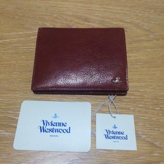 ヴィヴィアンウエストウッド(Vivienne Westwood)の☆新品ヴィヴィアン水牛 二つ折り財布☆ (財布)