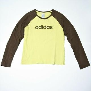 アディダス(adidas)のAdidas アディダス レディース ラグラン コットン Tシャツ 長袖 M(Tシャツ(長袖/七分))
