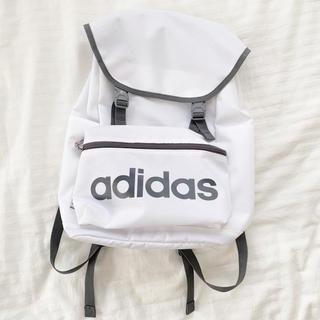 adidas - リュック 白リュック