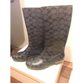 コーチ(COACH)のcoach長靴(レインブーツ/長靴)