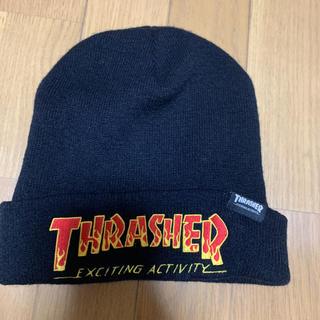 スラッシャー(THRASHER)のニット帽(ニット帽/ビーニー)