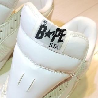 アベイシングエイプ(A BATHING APE)のエイプスター BAPE STA アベイシングエイプ (サイズ31㎝)(スニーカー)