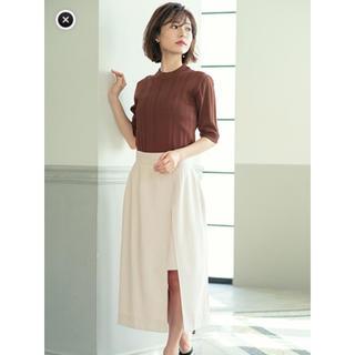Cherie Mona - シェリーモナ フロントレイヤードスカート