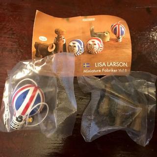 リサラーソン(Lisa Larson)のLISA LARSON(リサ・ラーソン) ガチャ バッファロー&気球2個セット(その他)
