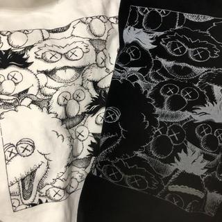 セサミストリート(SESAME STREET)のUNIQLO カウズ 二枚セット(Tシャツ/カットソー(半袖/袖なし))