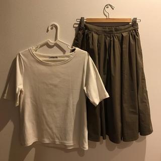 しまむら - スカートとTシャツのセット
