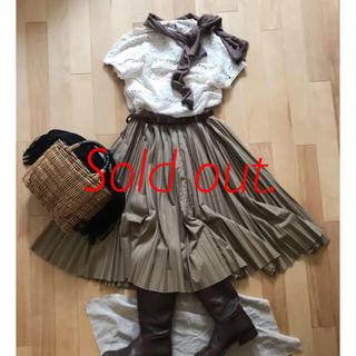 フォーティーファイブアールピーエム(45rpm)の45R スカート 45rpm (ひざ丈スカート)