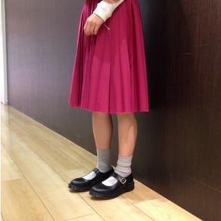 ドクターマーチン(Dr.Martens)の【着用イメージ画像】Dr.Martens INDICA UK5 メリージェーン(ローファー/革靴)