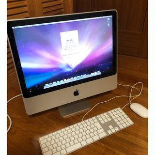 アップル(Apple)のApple iMac Core2Duo 2Ghz メモリ4GB 20インチ(デスクトップ型PC)