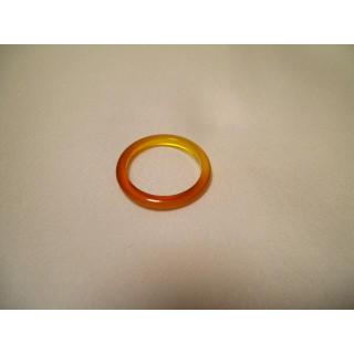 D54f61●パワーストーン●天然石メノウ指輪●瑪瑙 めのう●17号リング●(リング(指輪))