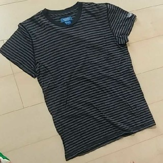 アディダス(adidas)のadidas originalsボーダーTシャツ(Tシャツ/カットソー(半袖/袖なし))