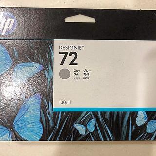 ヒューレットパッカード(HP)の純正品 インクカートリッジ グレー HP72 C9374A 消費期限切れ(オフィス用品一般)