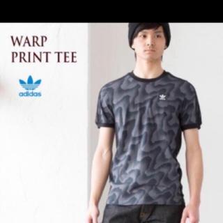アディダス(adidas)のadidas★スリーストライプTシャツ★Mサイズ (Tシャツ/カットソー(半袖/袖なし))