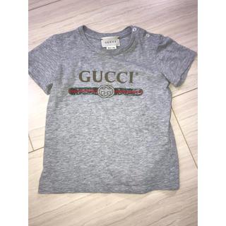 グッチ(Gucci)のGUCCI children ロゴ tシャツ グッチ キッズ 18m 24m (Tシャツ)