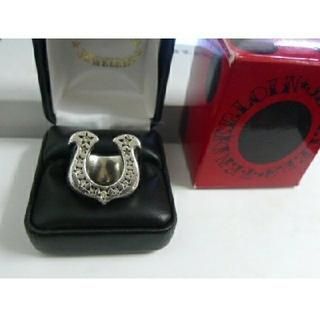 テンダーロイン(TENDERLOIN)のTENDERLOINテンダーロイン ホースシュー ダイヤリング(リング(指輪))