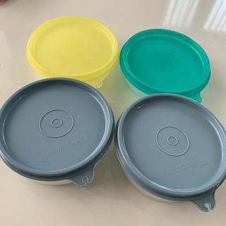 タッパーウェア  惣菜 おかず 容器 ケース 4つセット(容器)