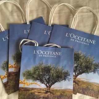 ロクシタン(L'OCCITANE)のロクシタン  未使用  紙袋5枚(ショップ袋)