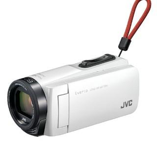 ビクター(Victor)の【新品未使用】JVCハイビジョンメモリームービーGZ-F270-W(ビデオカメラ)