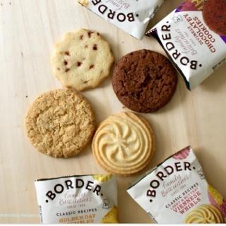 イギリス土産としても有名 BORDER BISCUITS 8パックセット(菓子/デザート)