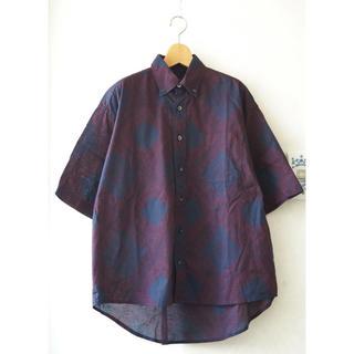 ダブルタップス(W)taps)のDOUBTFUL AS DOUBLE オープンカラーシャツ バンダナ柄 M(シャツ)