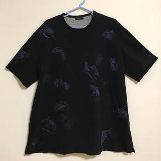 ラッドミュージシャン(LAD MUSICIAN)のlad musician 花柄Tシャツ 44 (Tシャツ/カットソー(半袖/袖なし))