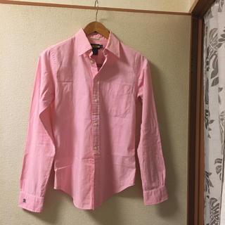 ラルフローレン(Ralph Lauren)のラルフローレンラグビー ピンク シャツ(シャツ/ブラウス(長袖/七分))