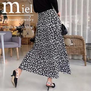 ローリーズファーム(LOWRYS FARM)のsmall flower long skirt/小花柄 ロングスカート(ロングスカート)