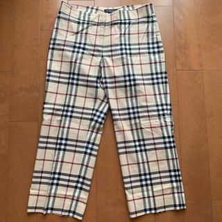 バーバリー(BURBERRY)のバーバリー パンツ ズボン チェックパンツ 古着 サンタモニカ lochie(カジュアルパンツ)