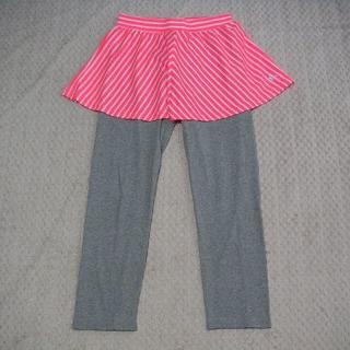 アディダス(adidas)の【新品・値下げ】アディダス☆スコート・パンツ(ピンク×グレー)☆160(ウェア)