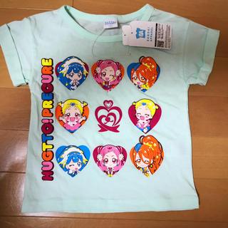 バンダイ(BANDAI)の◇HUGっとプリキュア Tシャツセレクション  ミントグリーン 100(Tシャツ/カットソー)