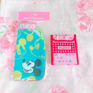 ディズニー(Disney)のDisney♡  ペットボトルカバー&おにぎりケース(日用品/生活雑貨)