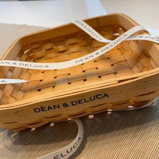 DEAN&DELUCA  カゴ&リボン