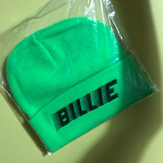 Billie Eilish ビーニー ニット帽 公式