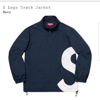 Supreme - S logo track jacket navy
